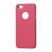 Бампер iPhone 5/5s/SE iGlaze, розовый